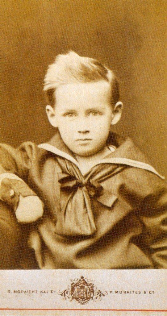 Ο πρίγκιπας Νικόλαος σε παιδική ηλικία.