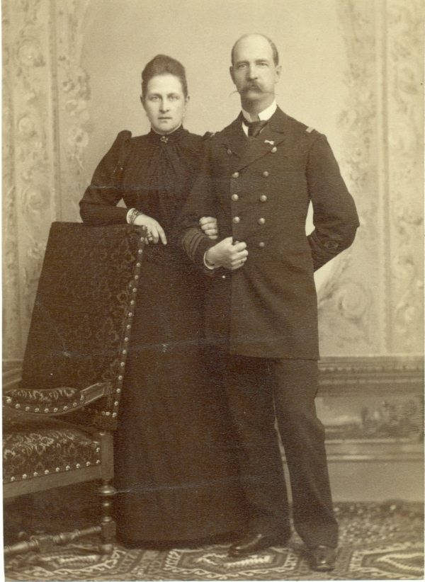 Ο Βασολέας Γεώργιος και η Βασίλισσα Ολγα της Ελλάδος.