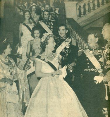 Μάρτιος 1963. Εορτασμοί Βασιλικού Ιωβηλαίου.