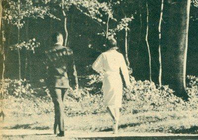 Σεπτέμβριος 1962 ,ρομαντικός περίπατος στο πάρκο του Φρέντεσμποργκ.