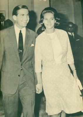 Καλοκαίρι 1964. Άφηξη Άννας-Μαρίας στην Κέρκυρα.