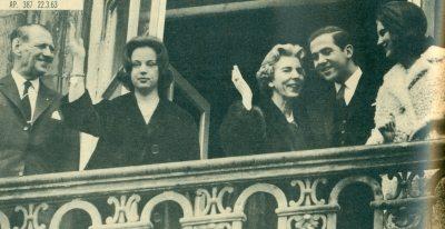 11 Μάρτίου 1963 , Γενέθλια Βασιλέως Φρειδερίκου.