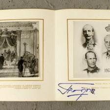 Ιστορικές ευχετήριες κάρτες της Ελληνικής Βασιλικής Οικογένειας