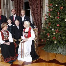 «Γλυκές» στιγμές για τους βασιλείς της Νορβηγίας