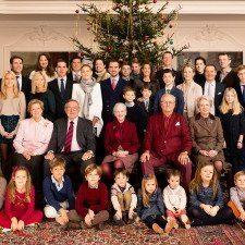 Φωτογραφίες από την Δανία της Ελληνικής βασιλικής οικογένειας