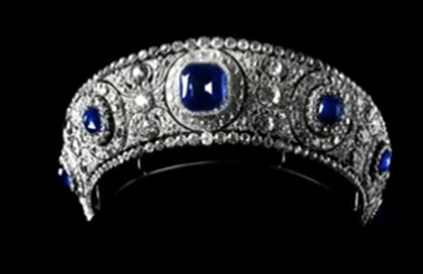 grand duchess vladimir sapphire diamond tiara