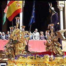 Ο βασιλιάς Φελίπε στις εκδηλώσεις για την Μεγάλη Εβδομάδα των καθολικών στη Σεβίλλη