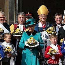 Στη λειτουργία της Μεγάλης Πέμπτης στο Σέφιλντ η βασίλισσα Ελισάβετ