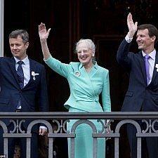 Ολοκληρώθηκαν οι εορταστικές εκδηλώσεις για τα 75α γενέθλια της βασίλισσας Μαργκρέτε