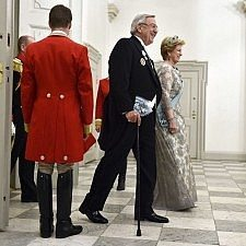 Το επίσημο δείπνο προς τιμήν της βασίλισσας της Δανίας Μαργκρέτε, για τα 75α της γενέθλια