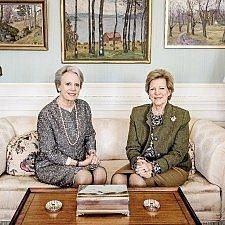 Βασίλισσα Άννα-Μαρία & πριγκίπισσα Βενεδίκτη: Η αδελφή μας, βασίλισσα Μαργκρέτε