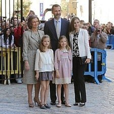 Η Ισπανική βασιλική οικογένεια στην Μαγιόρκα για το Πάσχα