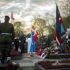 Η βασιλική οικογένεια της Δανίας τιμά τους πεσόντες του Β΄ Παγκοσμίου Πολέμου, 70 χρόνια από τη λήξη του