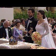 Οι πρώτες φωτογραφίες του πριγκιπικού γάμου στην Σουηδία.