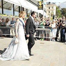 Ο πρίγκιπας Νικόλαος και η πριγκίπισσα Τατιάνα στο πριγκιπικό γάμο της Σουηδίας