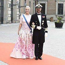 Βασιλικές παρουσίες στο γάμο του πρίγκιπα Καρλ Φίλιπ και της πριγκίπισσας Σοφίας