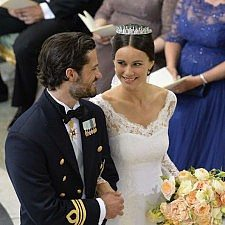 Φωτογραφίες του πριγκιπικού γάμου στην Σουηδία (συνέχεια)