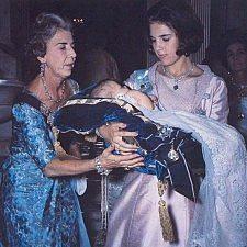 Η βάπτιση της πριγκίπισσας Αλεξίας