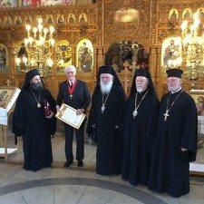 Ο Αρχιεπίσκοπος Αθηνών Ιερώνυμος παρασημοφόρησε τον Δούκα της Βαυαρίας Φραγκίσκο