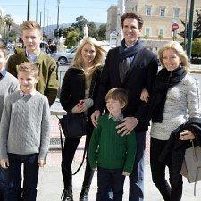 Παύλος & Μαρί-Σαντάλ: Γιόρτασαν οικογενειακά την Ημέρα των Ευχαριστιών