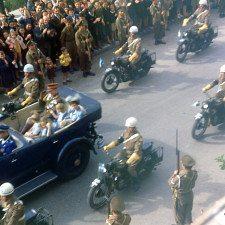 Βασιλική πομπή…στην Αθήνα του 1947 & 1949