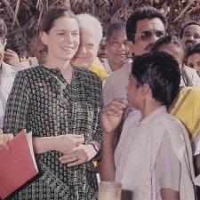 Η φιλανθρωπική αποστολή της πριγκίπισσας Ειρήνης στην Ινδία