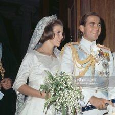 Βασιλιάς Κωνσταντίνος Β΄και Γεώργιος Παπανδρέου