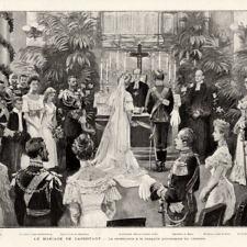Οι γάμοι του βασιλόπαιδος  Ανδρέα και της πριγκίπισσας Αλίκης του Μπάττενμπεργκ
