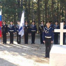 Απόδοση τιμών στην Βασίλισσα Όλγα στο μνήμα της στο Τατόι