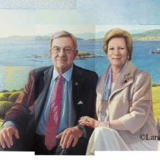 Το πρώτο επίσημο πορτρέτο του βασιλικού ζεύγους: «Η διπλή Οδύσσεια. Η υπόσχεση του ανέμου»