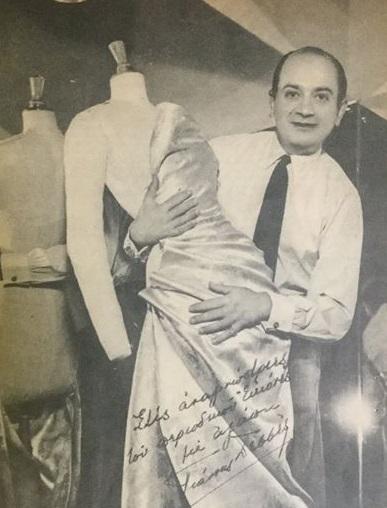 3be1e9197cc2 Jean Dessès  Ο «πρίγκιπας» της υψηλής ραπτικής που δημιουργούσε τα φορέματα  της βασίλισσας Φρειδερίκης