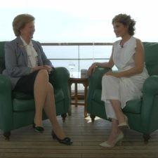 Συνέντευξη της βασίλισσας Άννας-Μαρίας στην εκπομπή «RealtaLK»