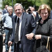 Στη Μητρόπολη οι βασιλείς Κωνσταντίνος & Άννα-Μαρία για το ύστατο χαίρε στον Κωνσταντίνο Μητσοτάκη