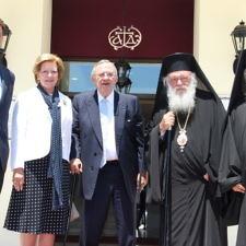 Προσκυνηματική επίσκεψη της βασιλικής οικογένειας στον Ι.Ν. Αγίας Βαρβάρας