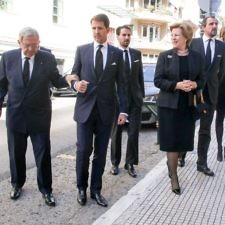 Η βασιλική οικογένεια «αποχαιρέτησε» τον εφοπλιστή Αλέξανδρο Γουλανδρή