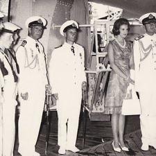 Η θαλαμηγός Dannebrog φέρνει την Άννα-Μαρία νύφη στην Ελλάδα