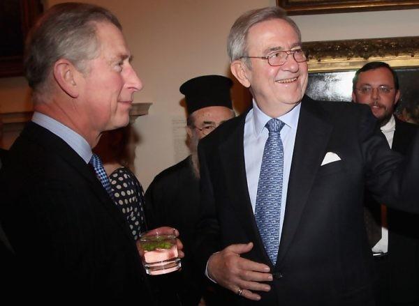 Συνάντηση Βασιλιά Κωνσταντίνου & Πρίγκιπα Κάρολου στο Πόρτο Χέλι