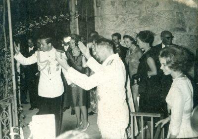 Δεξίωση Τατοΐου,14-9-1964