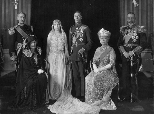Prince-George-and-Lady-Elizabeth-wedding-2